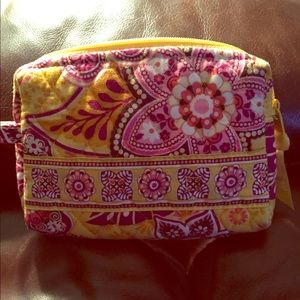 Vera Bradley mini cosmetic bag